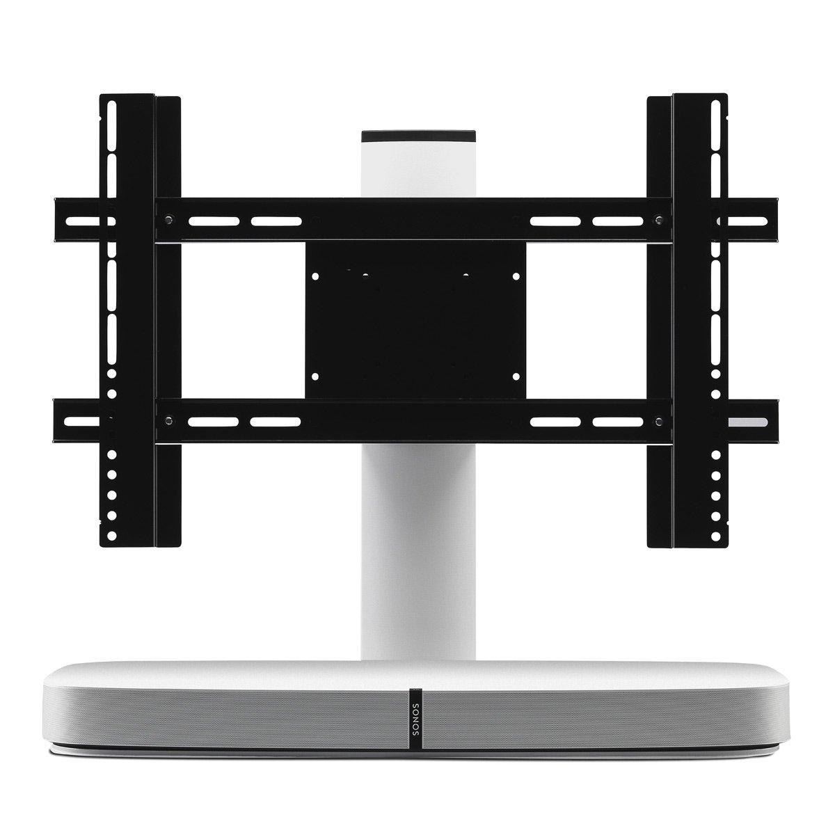 Flexson調節可能テレビスタンドfor Sonos Playbase (ホワイト) B00JUQ57TO