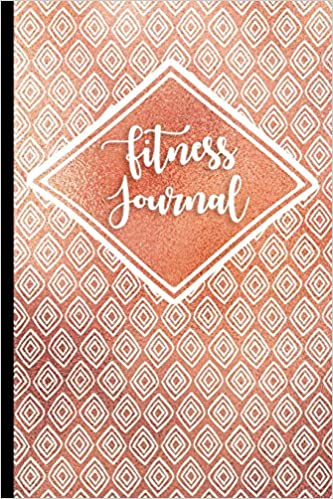 Fitness Journal Rose Gold Diamonds 90 Day Undated Daily Training