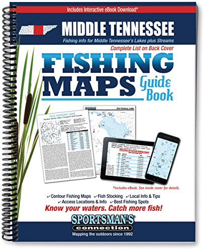 Middle Tennessee Fishing Map Guide
