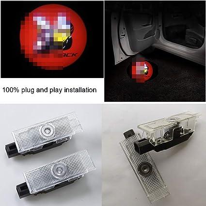 2 proyectores de puerta de coche para Dodge Challenger 2008 - 2019 ...