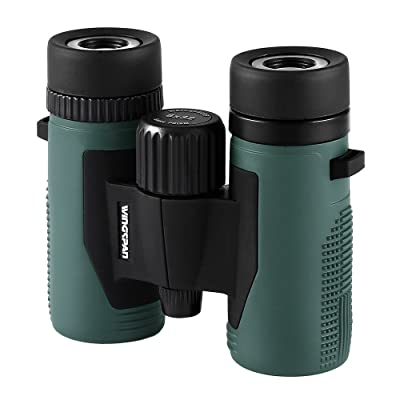 Wingspan Optics NatureSport 8X32 Waterproof Compact Binoculars for Bird Watching