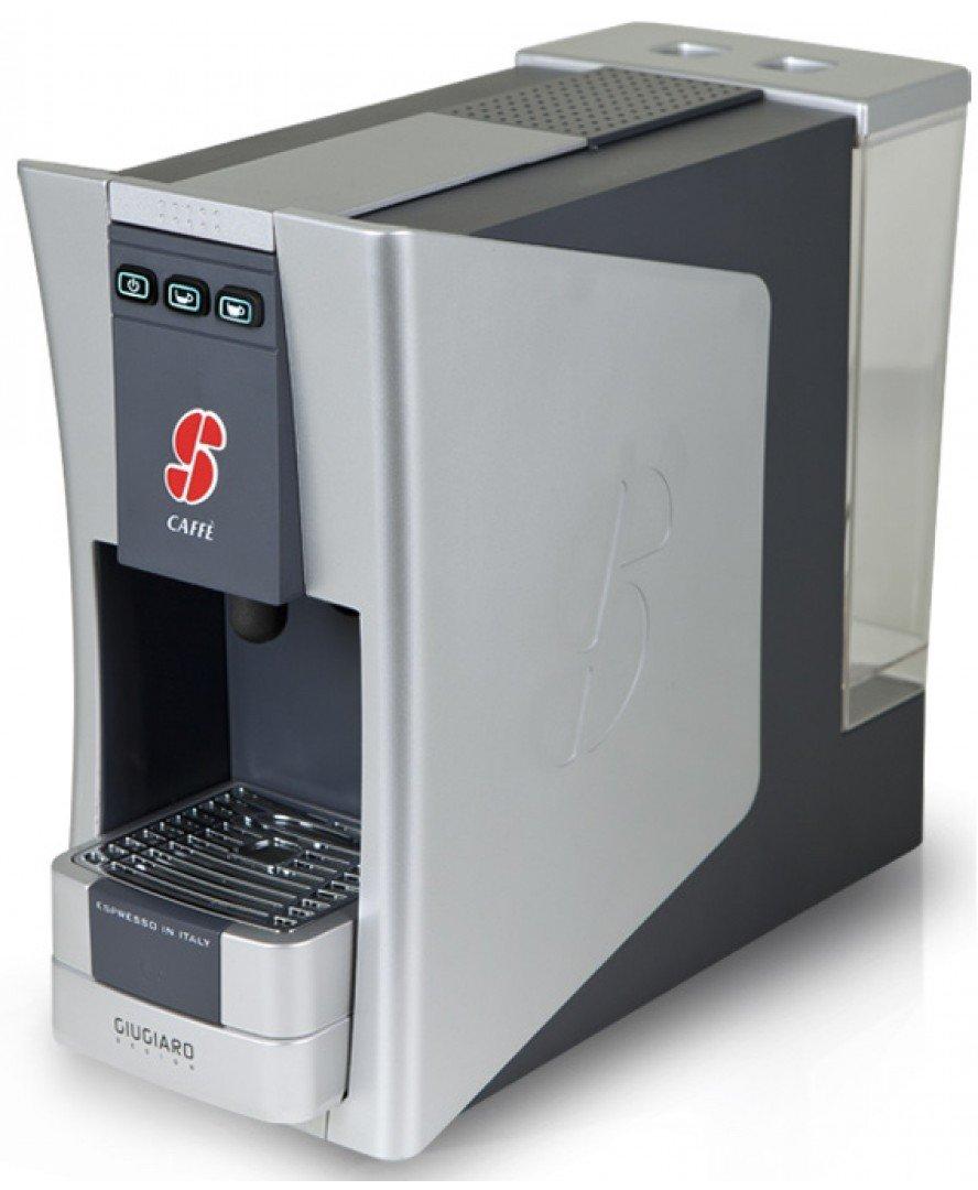 S.12 Espresso Coffee Capsule Machine Designed by Giugiaro By Essse Caffe (White) by Essse Caffe