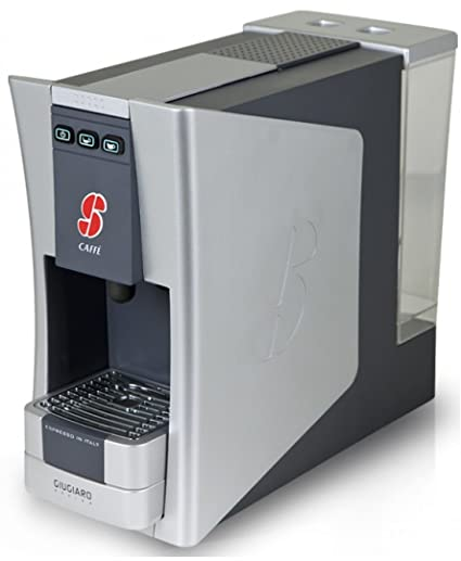 Amazon.com: S.12 Espresso Coffee Capsule Machine Designed by Giugiaro By Essse Caffe (Black): Kitchen & Dining