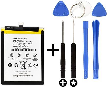 Bateria para BQ Aquaris U/BQ U Lite/BQ U Plus + Kit Herramientas/Tools: Amazon.es: Electrónica