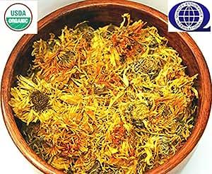 "Organic Marigold ""Calendula Officinalis"" Dried Flower Petals Herb 4 oz"