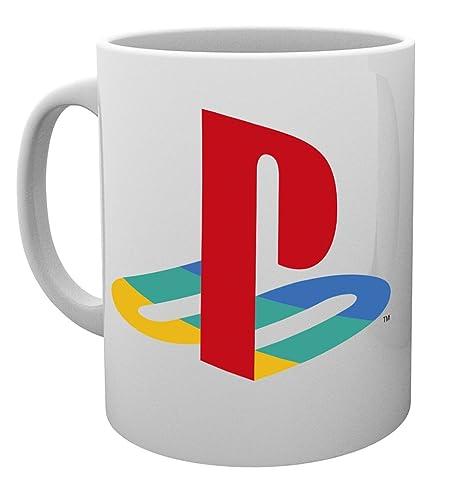 GB Eye, Playstation, Colour Logo, Taza