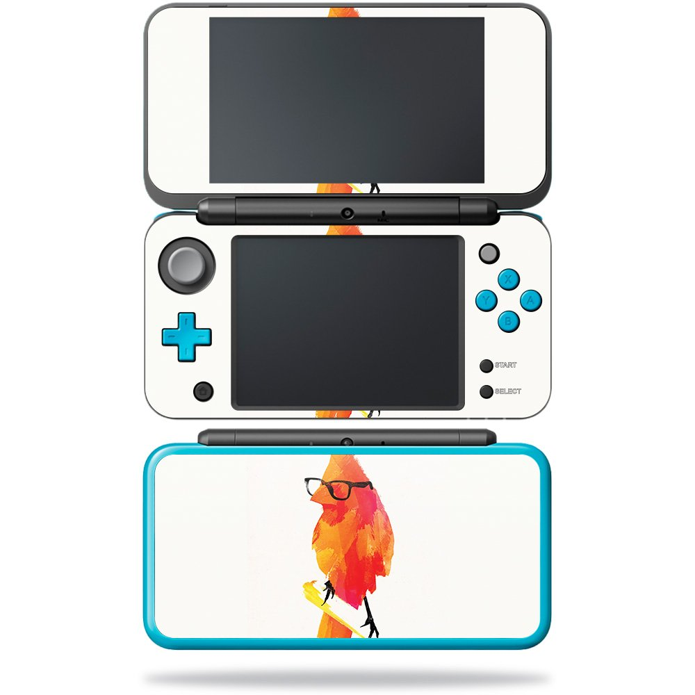 MightySkins Skin For Nintendo 2DS XL - Punk Bird | Protective, Durable, and Unique Vinyl Decal wrap cover | Easy To Apply, Remove, and Change Styles | Made in the USA