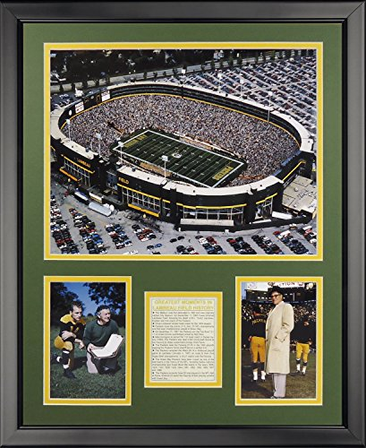 Legends Never Die Old Lambeau Field Framed Photo Collage, 16
