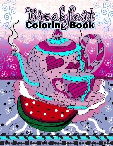 Review Breakfast Coloring Book (Food