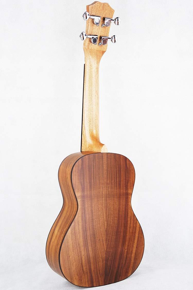 LFDYKLL Concierto Ukulele 23 Acústica Pequeña Guitarra 4 Cuerdas ...