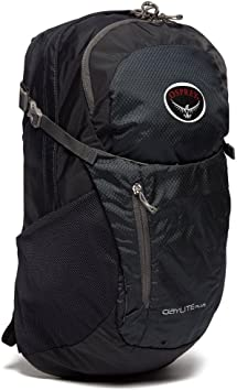 Osprey DAYLITE PLUS 20 Daysack, Noir, Taille Unique: Amazon.es: Deportes y aire libre