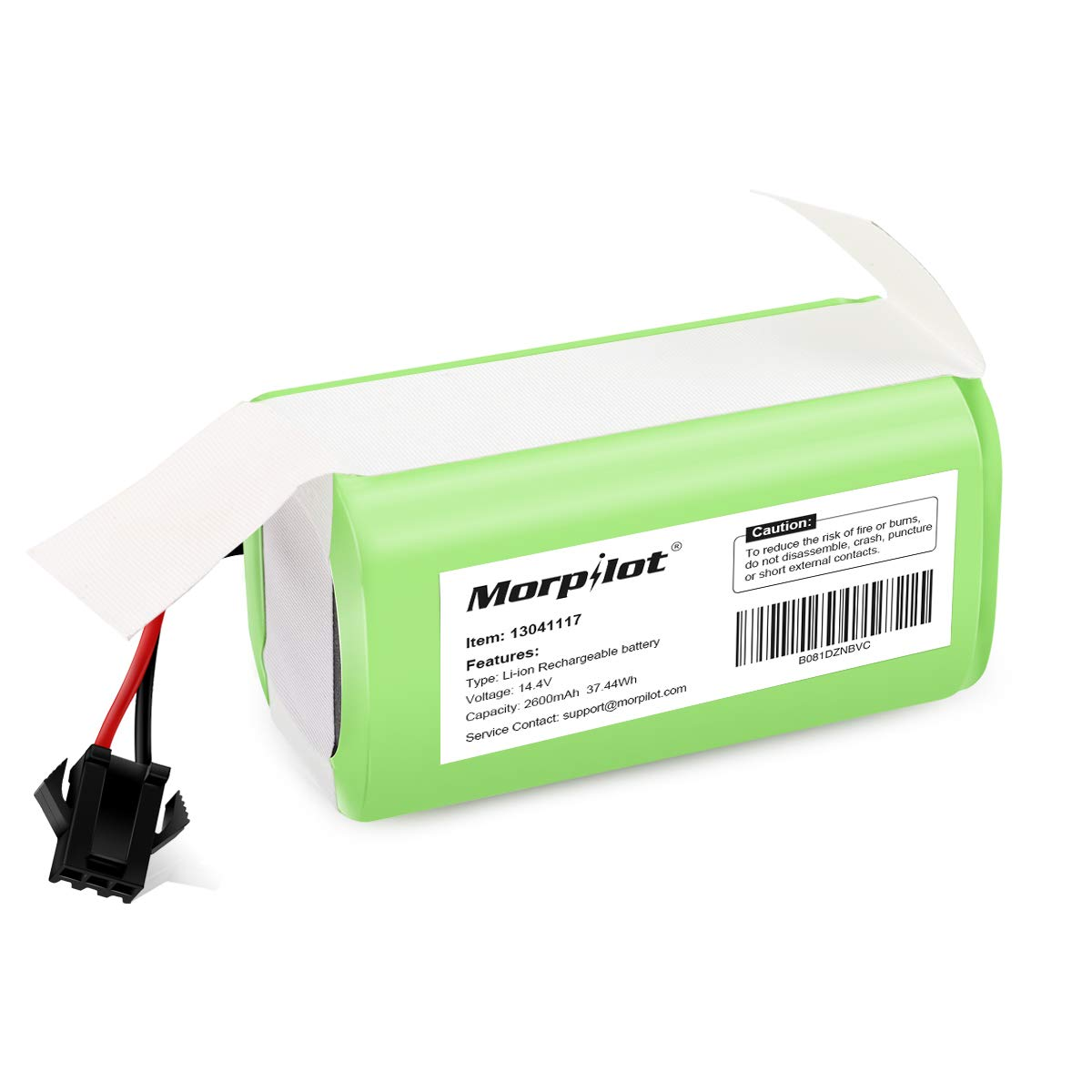 14.4v 2600mAh Li-ion Rechargeable Replacement Battery Compatible with Deebot N79S, RoboVac 11, 11S,11S MAX, 30, 15C, 15T, 12, 35C