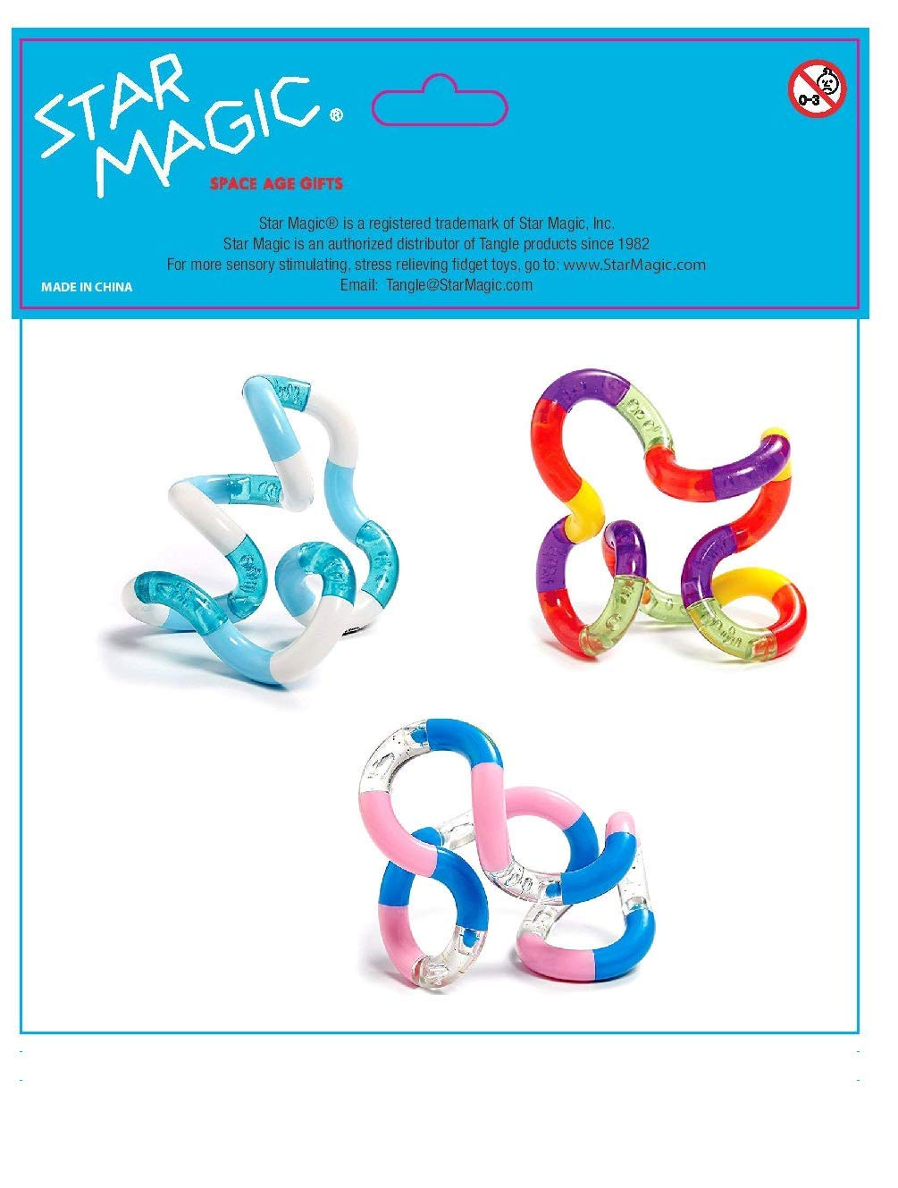 TANGLE Set of 3 Jr  Original Fidget Toy