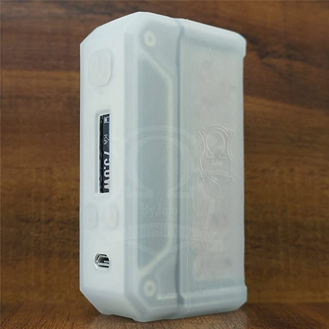 ModShield For Lost Vape THERION DNA75 & DNA133 & DNA166 Silicone Case ByJojo 75W & 133W & 166W TC DNA Skin Sleeve Cover Shield Wrap (Black)