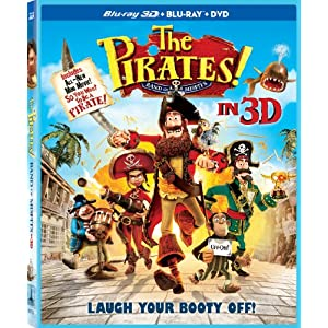 The Pirates! Band of Misfits (Three-Disc Combo: Blu-ray 3D / Blu-ray / DVD) (2012)