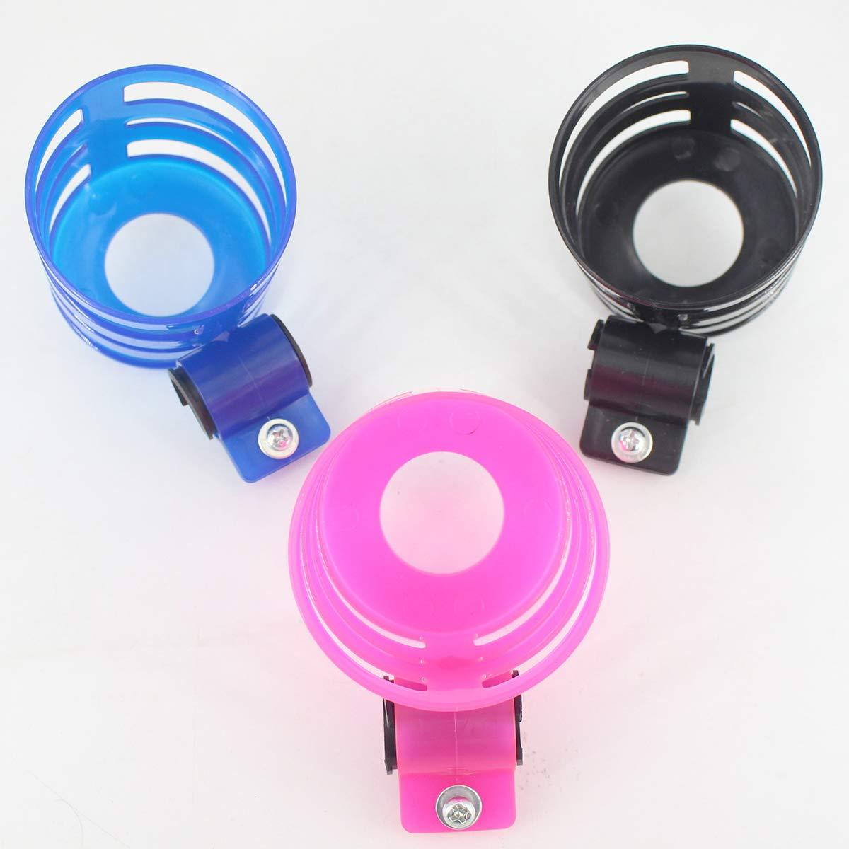Jinjuntech Kinderwagen Getr/änkehalter Universal Lenker Getr/änkehalter passend f/ür Kinderwagen und Fahrrad blau