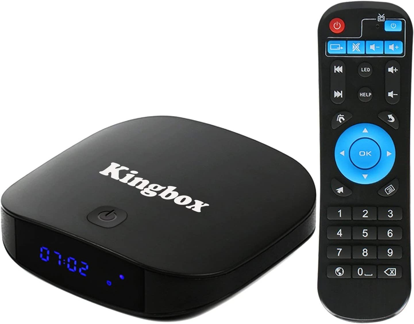 Kingbox K2 Android 7.1 TV Box de 2GB RAM + 16GB ROM/ BT4.0/ Penta Core/ 4K/ H.265 Smart TV Box [2018 Última Edición]: Amazon.es: Electrónica