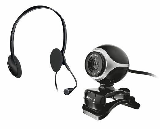 106 opinioni per Trust Exis Set Webcam e Cuffie con Microfono