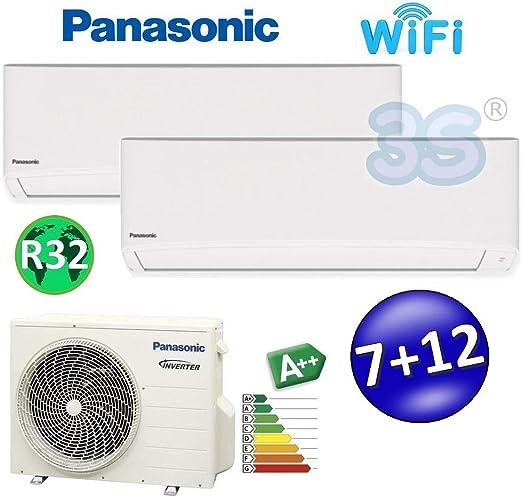 Aire acondicionado doble split inverter R32 Panasonic serie TZ ...