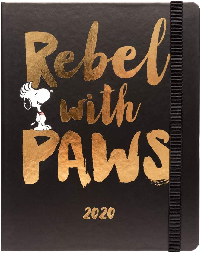 Erik ASVP1904 - Agenda 2020 semana vista Snoopy, 17 meses