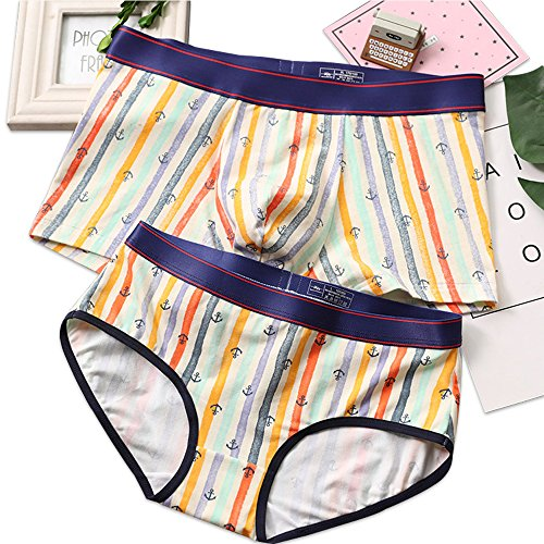 Couples Matching Underwear, Modal Couples Briefs for Boy/Girl -