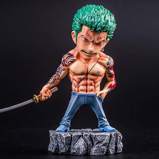 SYPTY One Piece Luffy Roronoa Zoro Domineering Tatuajes Estatuas ...