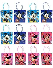 Disney Mickey & Minnie Mouse Mixed Goodie Favor Gift Bags 24 Pieces