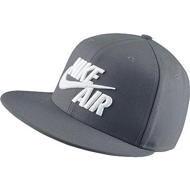 88d81598cddba Gorra Nike – Sportswear Air True Snapback gris blanco talla  OSFA (Talla  única