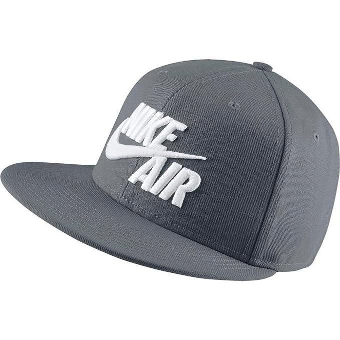 Gorra Nike – Sportswear Air True Snapback gris blanco talla  OSFA (Talla  única d3f148bdc82