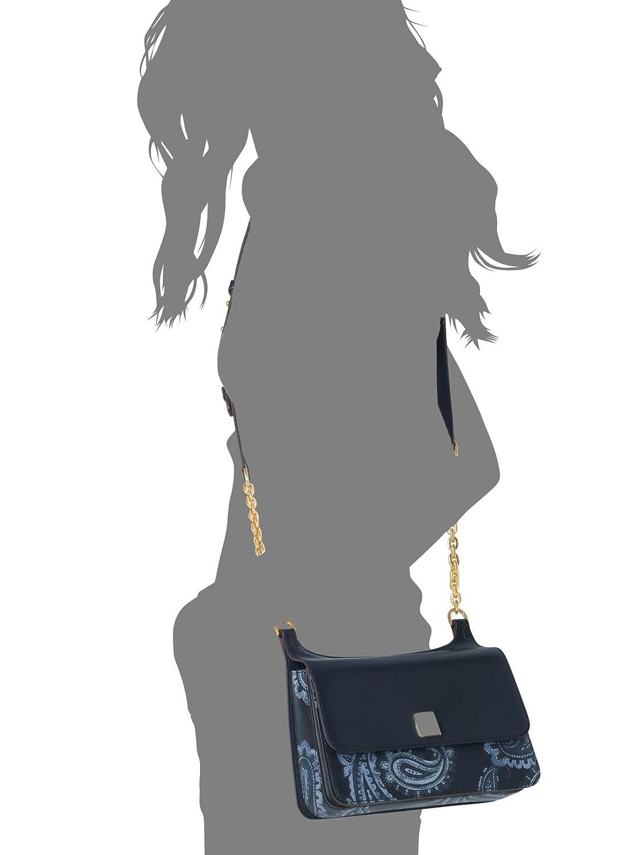 dfda92050e062d Amazon.com: MICHAEL Michael Kors Womens Natalie Leather Messenger Handbag  Brown Small: Clothing