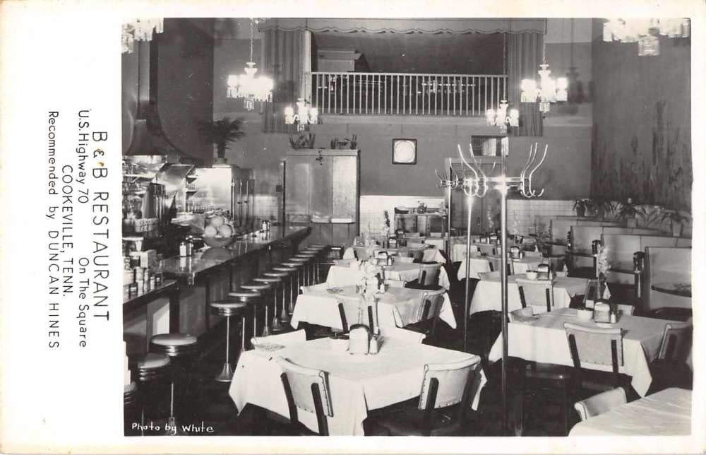 Cookeville Tennessee B And B Restaurant Dining Room Real