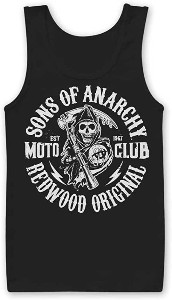 Sons of Anarchy Officially Licensed Merchandise SOA Moto Club Tank Top Vest