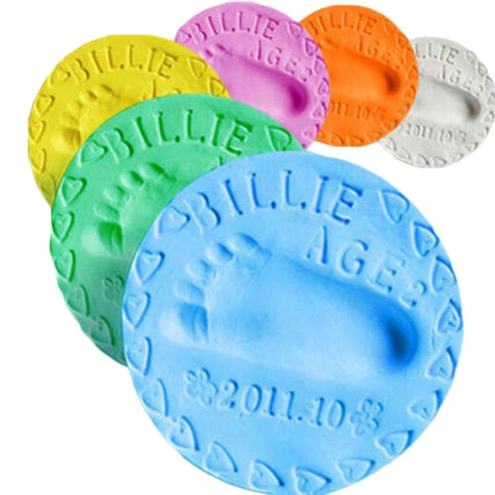 1pcs Empreintes Handprints Boue Empreinte De Boue Air S/échage Bricolage Boue 20g Multicolore en Option