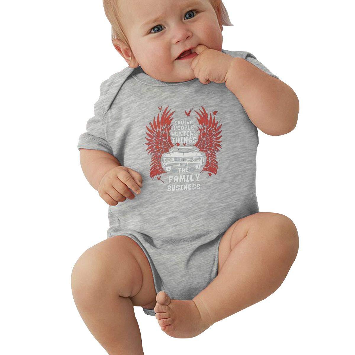 Supernatural Unisex Baby Jumpsuit Bodysuit Romper Novelty Clothes