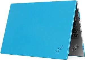"mCover Hard Shell Case for 14"" Lenovo ThinkPad X1 Carbon (5th Gen & 6th Gen) Laptop (X1-Carbon-6G Aqua)"