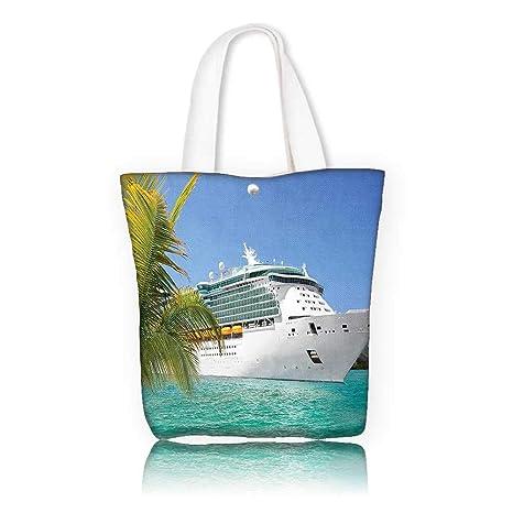 b737b58a8ffc Amazon.com  Canvas Tote Bag -W14 x H15.7 x D4.7 INCH women Large ...