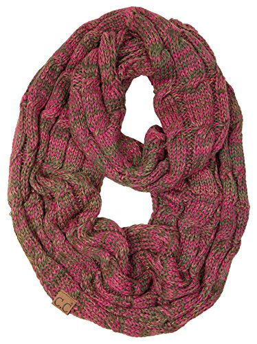 Junque Infinity Scarf - 4 Tone Pink (#8) ()