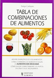 Tabla de combinaciones de alimentos (Tablas de alimentos)