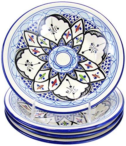 pasta bowl set stoneware - 6