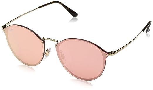 Óculos de Sol Ray Ban Blaze Round RB3574N 001 E4-59  Amazon.com.br ... 886c4c8cd7