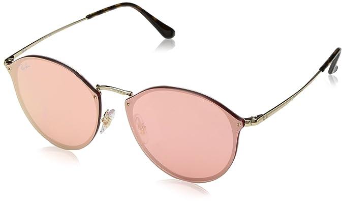 e251247ed16ba Óculos de Sol Ray Ban Blaze Round RB3574N 001 E4-59  Amazon.com.br ...