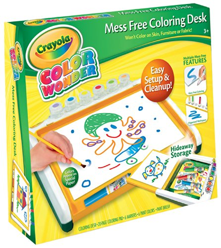 (Crayola Color Wonder Mess Free Coloring Desk)