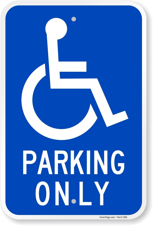 Señal de aparcamiento SmartSign Leyenda