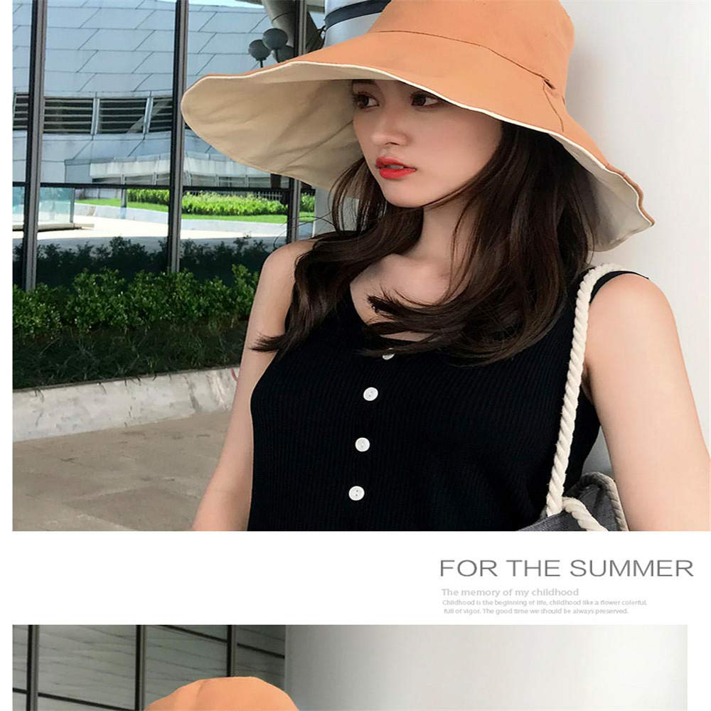 GJPSXTY Breathable Comfort Ladies Spring Summer Outdoor Casual Fashion Double Visor