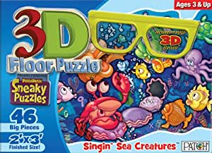 3D Sneaky Puzzles - Singin' Sea Creatures