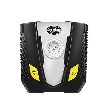 QIHANGCHEPIN Compresor de aire portátil compacto, cilindro de metal avanzado Bomba de compresor de aire del ...