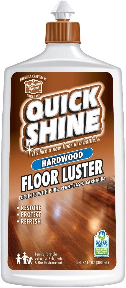 Amazon Com Quick Shine High Traffic Hardwood Floor Luster And