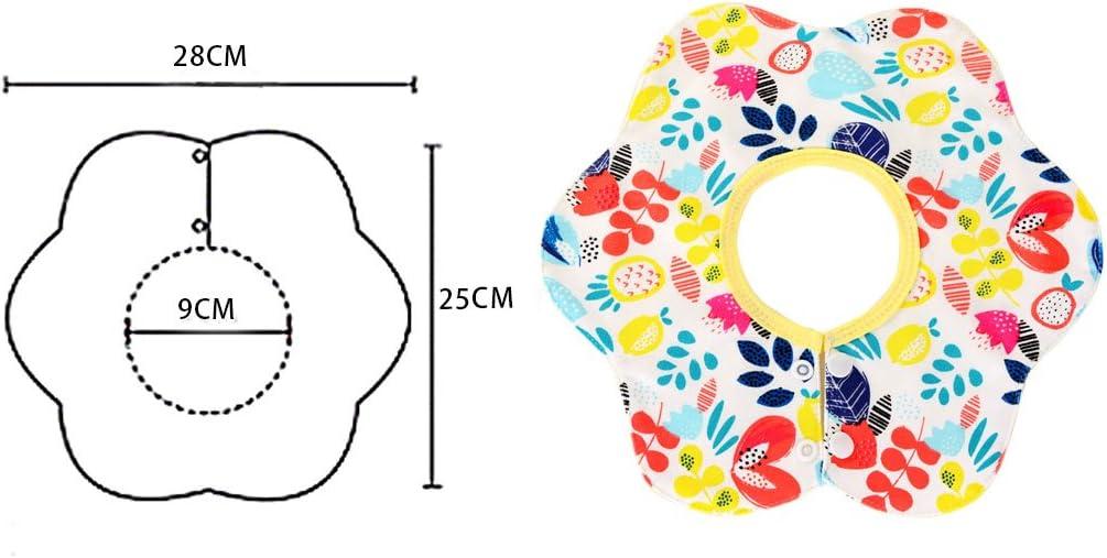 Meilleure Cadeau de Douche pour B/éb/é Doux Irypulse B/éb/é Bavoir Bandana Coton TPU Couche Imperm/éable Dernier Design de Rotation 360/°,Lot de 5 Bavettes de Salive pour Gar/çons Filles Joli
