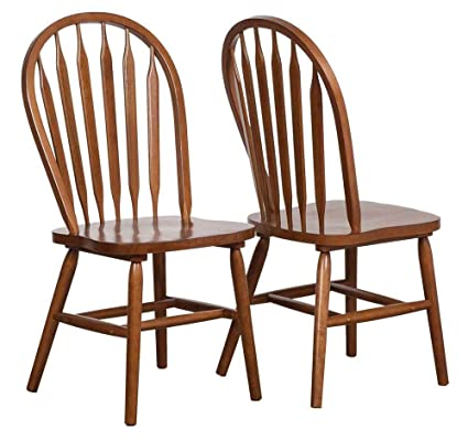 Arrow Back Windsor Side Chair Set Of 2