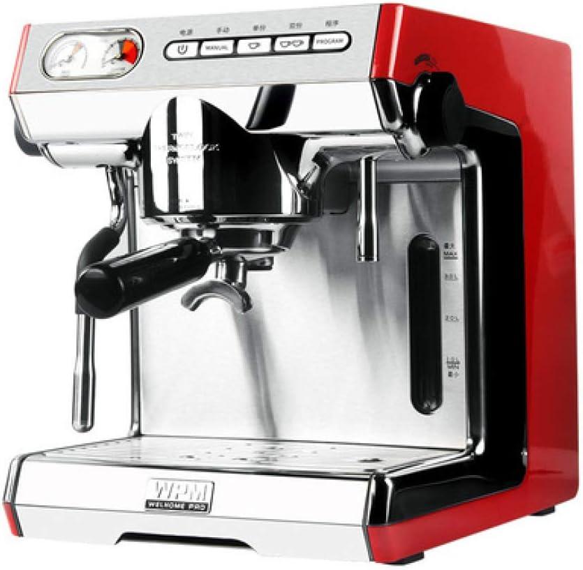 SUNHAO Cafetera Máquina de café exprés de alta presión profesional comercial casa semi automático de leche: Amazon.es: Hogar